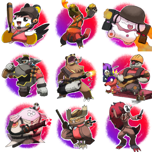 Team Fortress 2 Pokemon Edition Team Fortress 2 Sprays