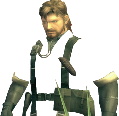Naked Snake in Camouflage [Team Fortress 2] [Sprays]