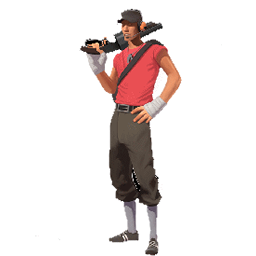 Fake Scout Team Fortress 2 Sprays