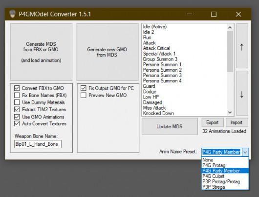 Screenshot of v1.5.1