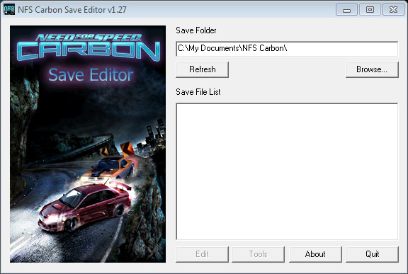 Nfs Carbon Unlocker Save Editor V1 27 Need For Speed Carbon