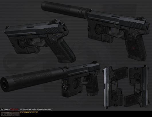 Mk23 Textures WIP