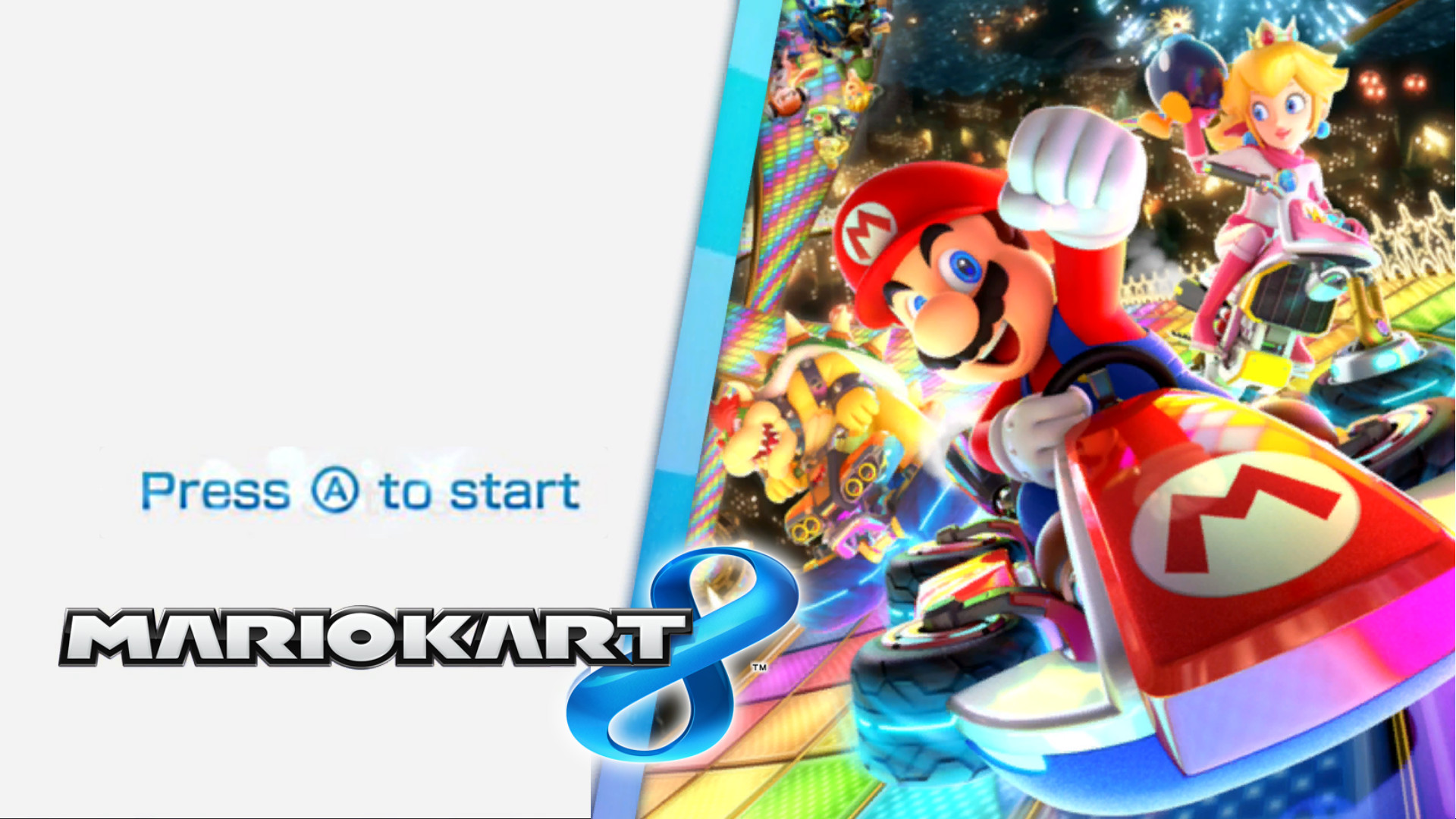 Mario Kart 8 Deluxe Title Screens Mario Kart 8 Works In Progress