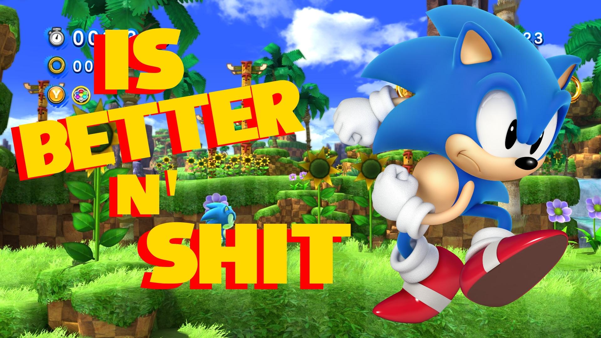 Classic Sonic Improvement Mod Generations Edition Sonic