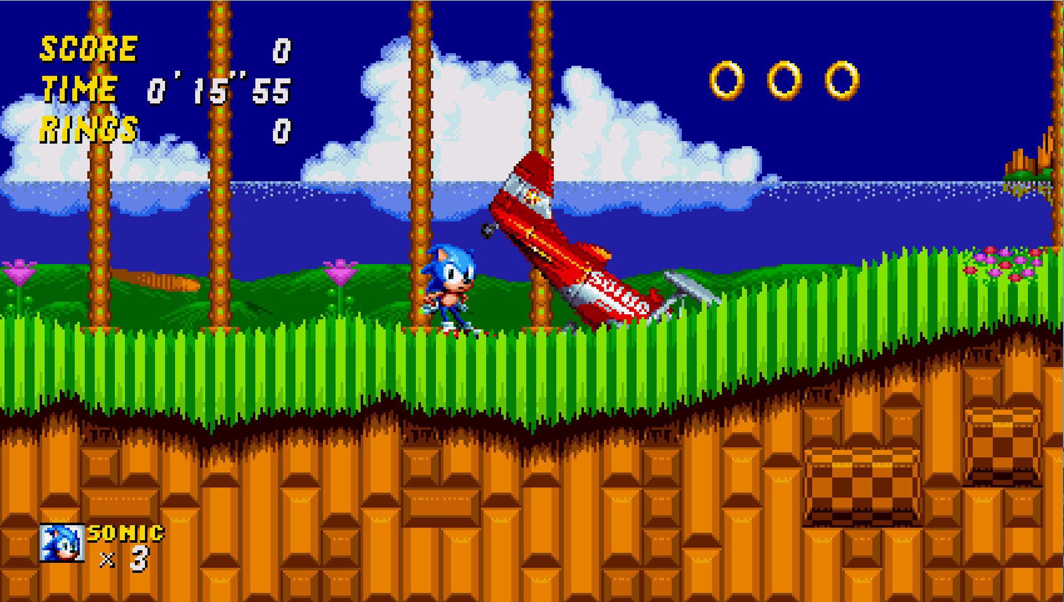 Sonic The Hedgehog 2 Mania Edition Sonic Mania Works In Progress